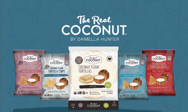 The real coconut launches coconut snack line in the us, promotes digestive well - being